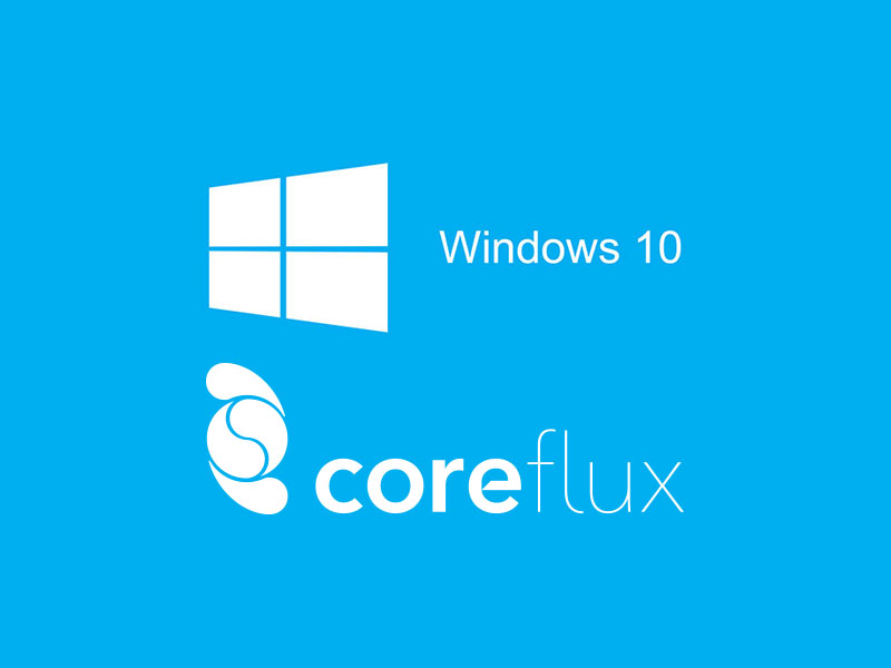 Coreflux now with 32-bit Version for Windows 10